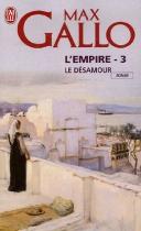 """Couverture du livre : """"Le désamour"""""""