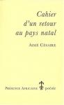 """Couverture du livre : """"Cahier d'un retour au pays natal"""""""