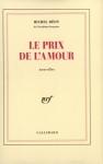"""Couverture du livre : """"Le prix de l'amour"""""""