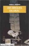 """Couverture du livre : """"Des briques en vrac"""""""