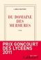 """Couverture du livre : """"Du domaine des murmures"""""""