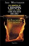 """Couverture du livre : """"Le parchemin du démon"""""""