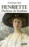 """Couverture du livre : """"Henriette"""""""