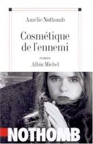 """Couverture du livre : """"Cosmétique de l'ennemi"""""""