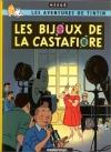 """Couverture du livre : """"Tintin et les bijoux de la Castafiore"""""""