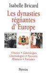 """Couverture du livre : """"Les dynasties régnantes d'Europe"""""""