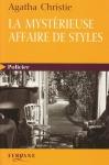 """Couverture du livre : """"La mystérieuse affaire de Styles"""""""