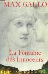 """Couverture du livre : """"La fontaine des innocents"""""""