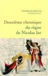 """Couverture du livre : """"Deuxième chronique du règne de Nicolas Ier"""""""