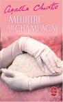 """Couverture du livre : """"Meurtre au champagne"""""""