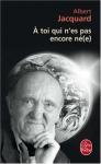 """Couverture du livre : """"A toi qui n'es pas encore né(e)"""""""