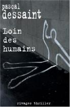 """Couverture du livre : """"Loin des humains"""""""
