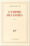 """Couverture du livre : """"L'empire des livres"""""""