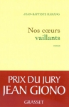 """Couverture du livre : """"Nos coeurs vaillants"""""""