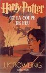"""Couverture du livre : """"Harry Potter et la coupe de feu"""""""