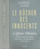 """Couverture du livre : """"Le bûcher des innocents"""""""