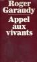 """Couverture du livre : """"Appel aux vivants"""""""