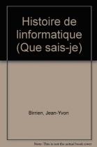 """Couverture du livre : """"Histoire de l'informatique"""""""