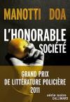 """Couverture du livre : """"L'honorable société"""""""