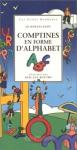 """Couverture du livre : """"Comptines en forme d'alphabet"""""""