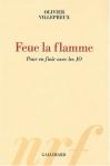 """Couverture du livre : """"Feue la flamme"""""""