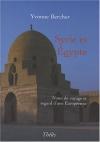 """Couverture du livre : """"Syrie et Égypte"""""""