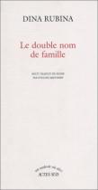 """Couverture du livre : """"Le double nom de famille"""""""