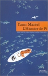 """Couverture du livre : """"L'histoire de Pi"""""""