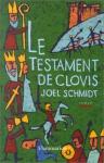 """Couverture du livre : """"Le testament de Clovis"""""""
