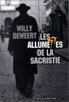 """Couverture du livre : """"Les allumettes de la sacristie"""""""