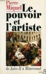 """Couverture du livre : """"Le pouvoir et l'artiste"""""""