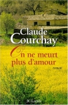 """Couverture du livre : """"On ne meurt plus d'amour"""""""