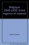 """Couverture du livre : """"Belgique 1949-1950"""""""
