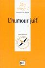 """Couverture du livre : """"L'humour juif"""""""