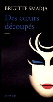 """Couverture du livre : """"Des coeurs découpés"""""""