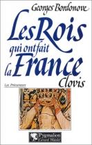 """Couverture du livre : """"Clovis et les Mérovingiens"""""""