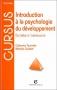 """Couverture du livre : """"Introduction à la psychologie du développement"""""""