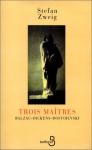 """Couverture du livre : """"Trois maîtres"""""""