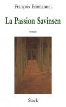 """Couverture du livre : """"La passion Savinsen"""""""