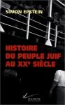 """Couverture du livre : """"Histoire du peuple juif au XXe siècle"""""""