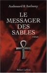 """Couverture du livre : """"Le messager des sables"""""""