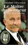 """Couverture du livre : """"Le maître du bonheur"""""""