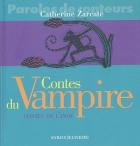 """Couverture du livre : """"Contes du Vampire"""""""