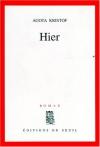 """Couverture du livre : """"Hier"""""""