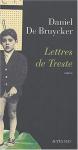 """Couverture du livre : """"Lettres de Treste"""""""