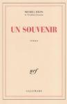 """Couverture du livre : """"Un souvenir"""""""