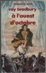 """Couverture du livre : """"A l'ouest d'octobre"""""""
