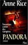 """Couverture du livre : """"Pandora"""""""