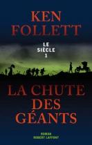 """Couverture du livre : """"La chute des géants"""""""