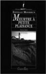 """Couverture du livre : """"Meurtre à Petite Plaisance"""""""
